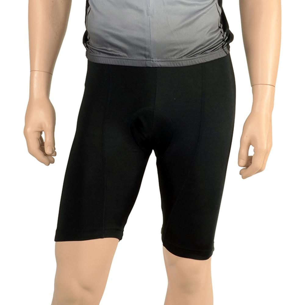 Cycle Force Triumph Unisex Black 8 Panel Cycling Shorts
