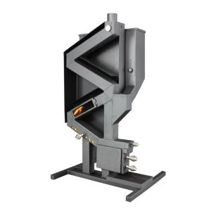 US Stove Wiseway 2,000 sq. ft. 40,000 BTU Non Electric Gravity Fed Pellet Stove by US Stove