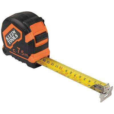 7.5 m Magnetic Double-Hook Tape Measure