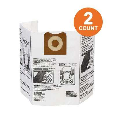 High-Efficiency Size A Dust Bags for 12 Gal. to 16 Gal. RIDGID Wet/Dry Vacs (2-Pack)