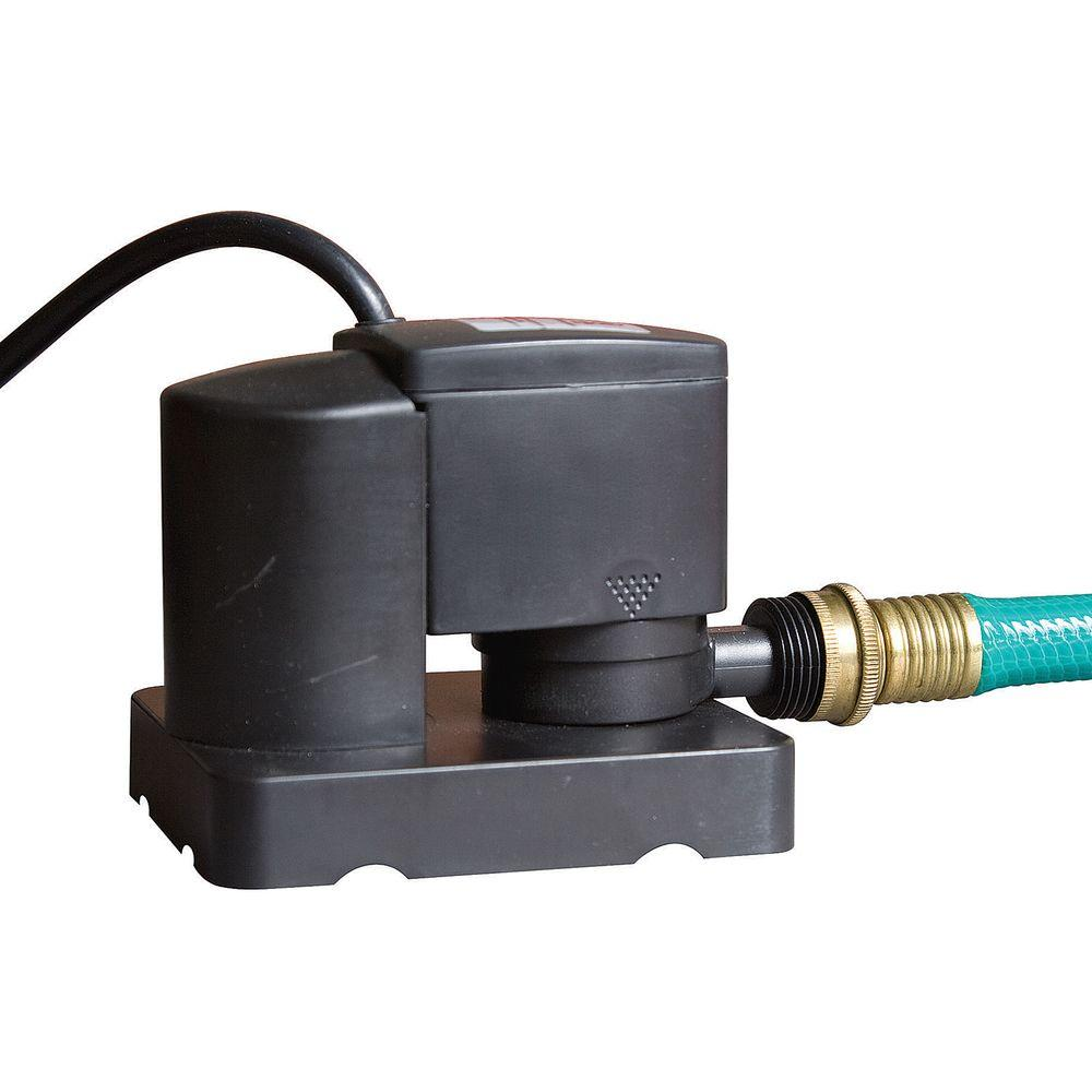 Blue Wave Dredger Jr. 350 GPH above Ground Pool Winter Cover Pump with Auto On-Off