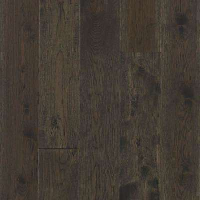 Take Home Sample - Big Sky Collection Smoke Signal Hickory Engineered Hardwood Flooring - 5 in. x 7 in.