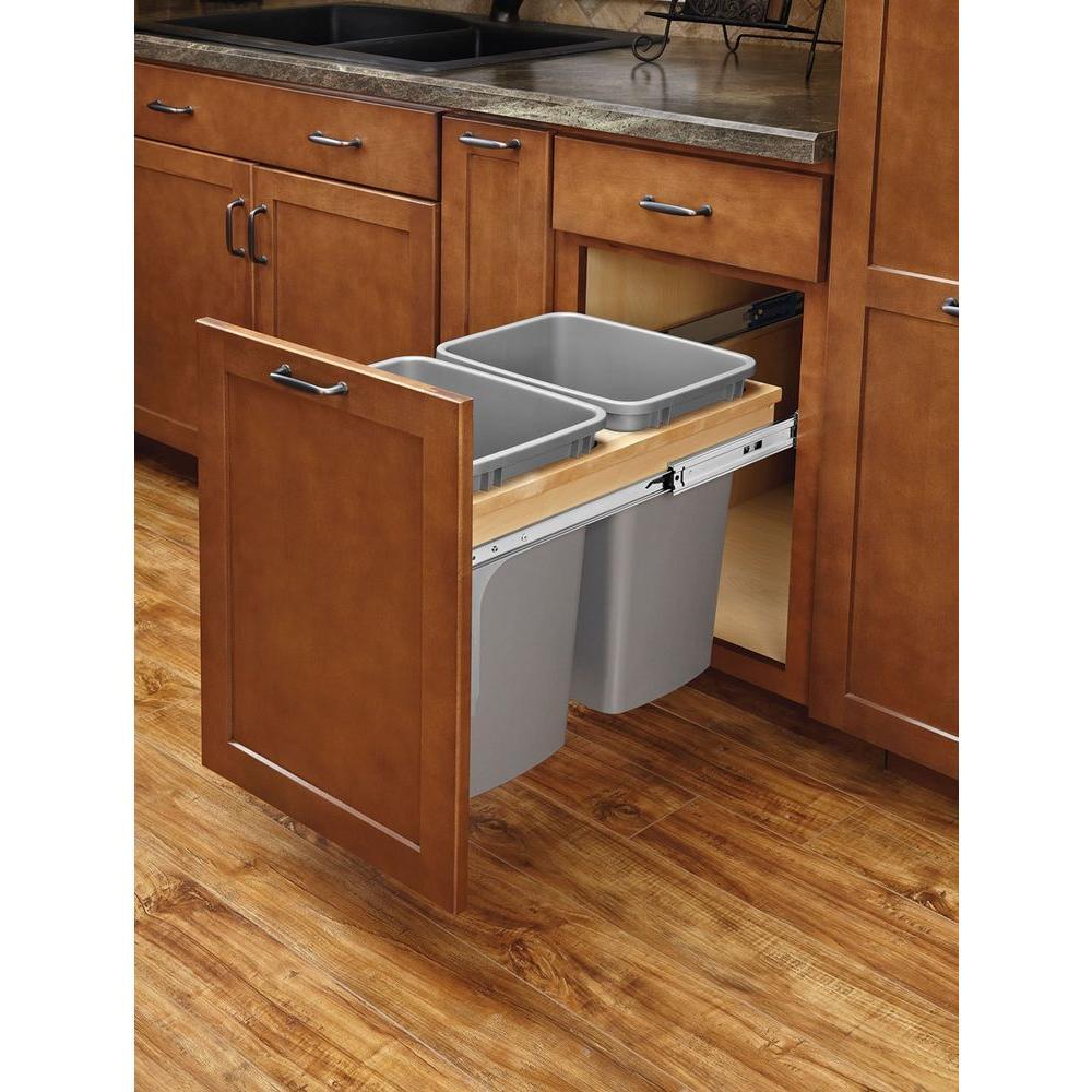 Wood - Kitchen Cabinet Organizers - Kitchen Storage & Organization ...