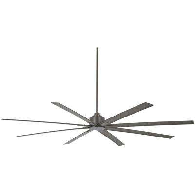 Xtreme H2O 84 in. Indoor/Outdoor Smoked Iron Ceiling Fan with Remote Control