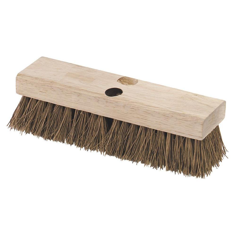 10 in. Palmyra Floor Deck Scrub Brush (12-Pack)