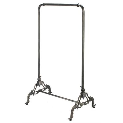 Black Metal Clothes Rack (23 in. W x 56 in. H)