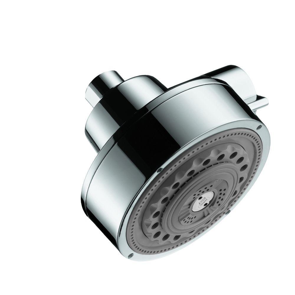 Hansgrohe Axor Citterio 3-Spray 4-5/8 in. Showerhead in Chrome ...