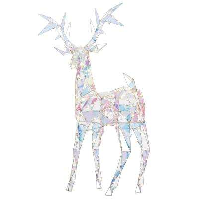 94 in. Buck-Colossal (Iridescent White)