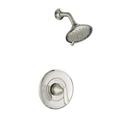 Chatfield Single-Handle 3-Spray Shower Faucet in Brushed Nickel (Valve Included)