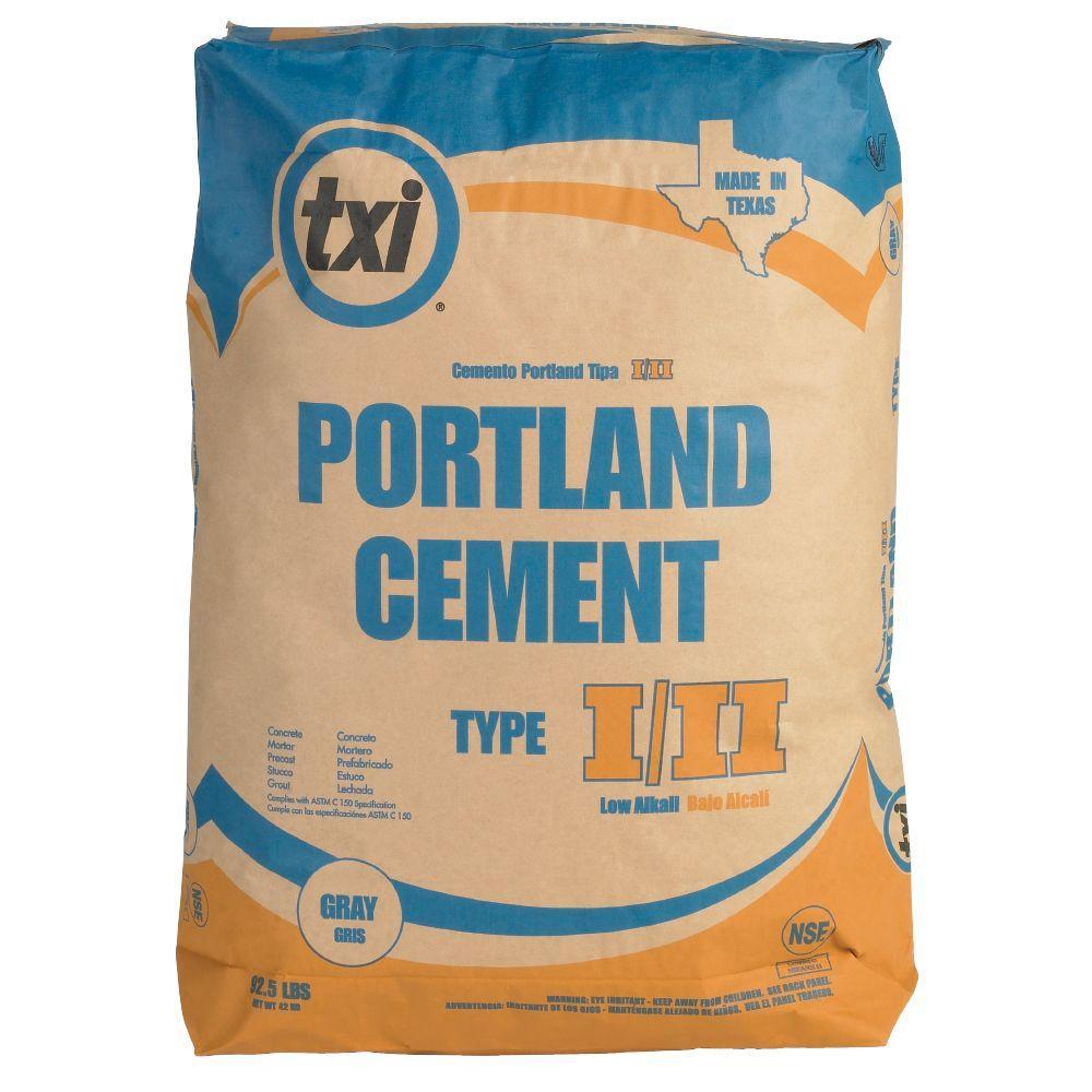 Pæn TXI 92.5 lb. Portland Cement Concrete Mix-4609 - The Home Depot AY14