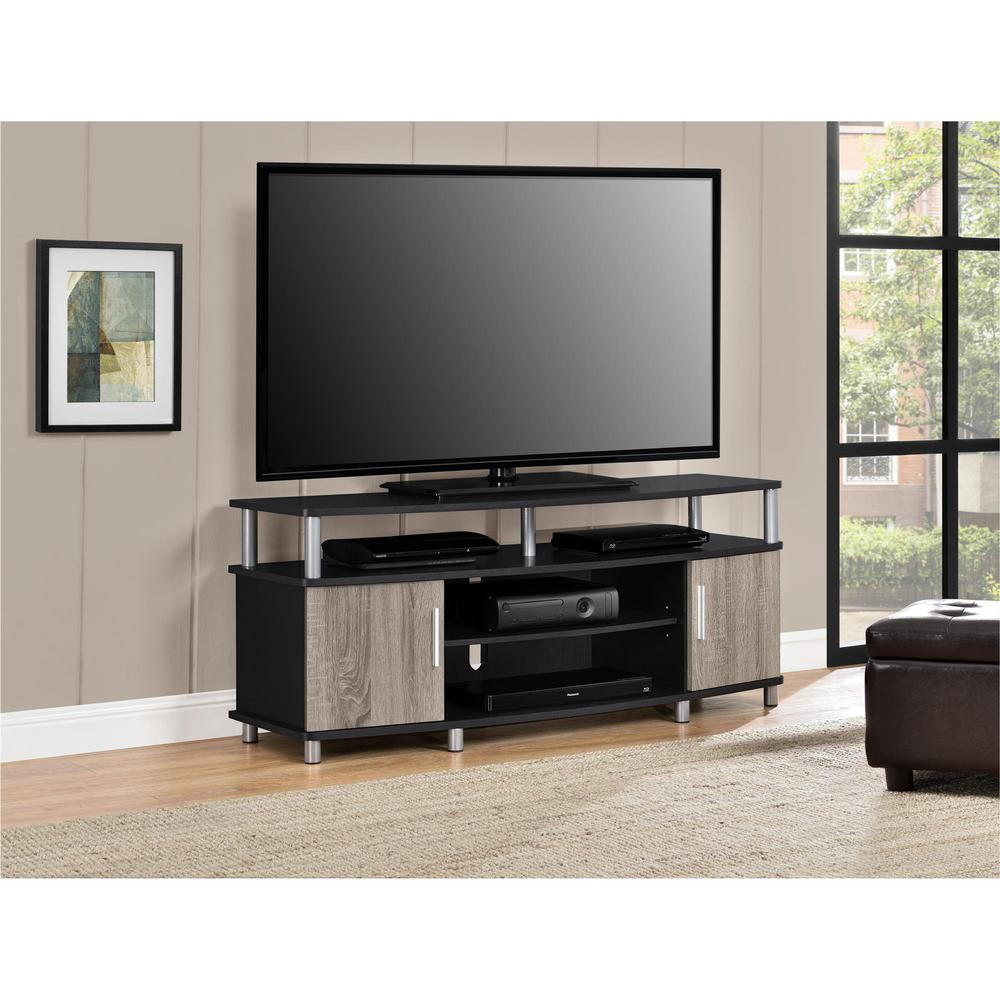 Ameriwood Windsor 50 In Espresso Tv Stand Hd55735 The Home Depot