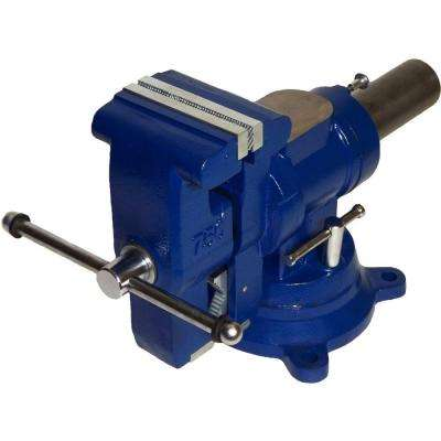5 in. Heavy-Duty Multi-Jaw Rotating Combination Pipe and Bench Vise