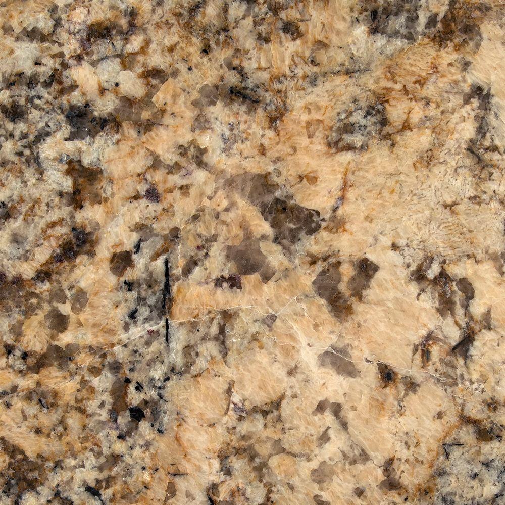 Stonemark Granite 3 in. Granite Countertop Sample in Juparana Persia