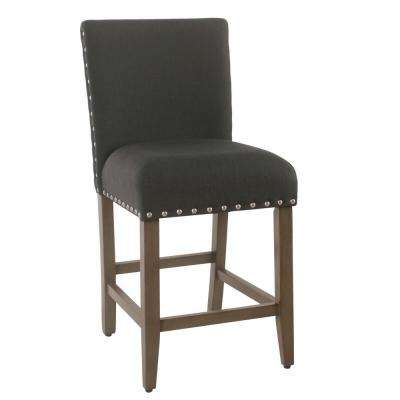 Counter stool 24 in. Dark Charcoal Bar Stool