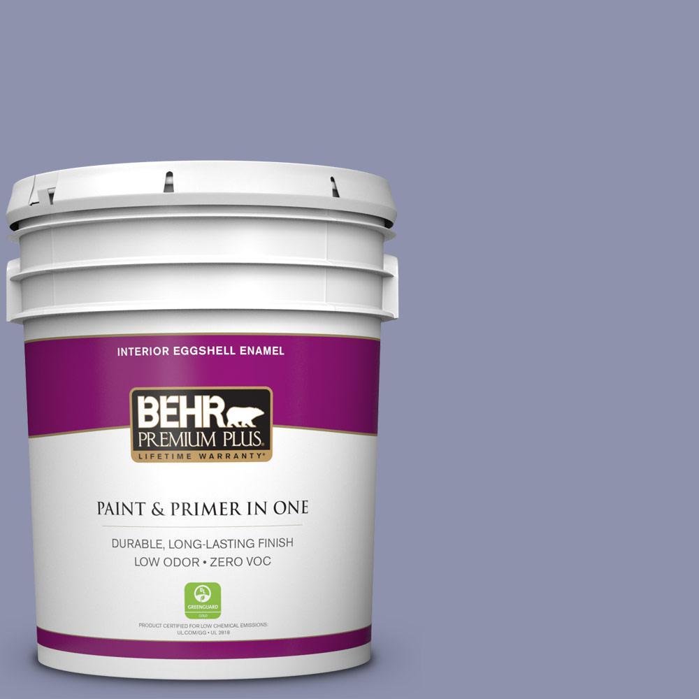 BEHR Premium Plus 5-gal. #S560-4 Monarchy Eggshell Enamel Interior Paint