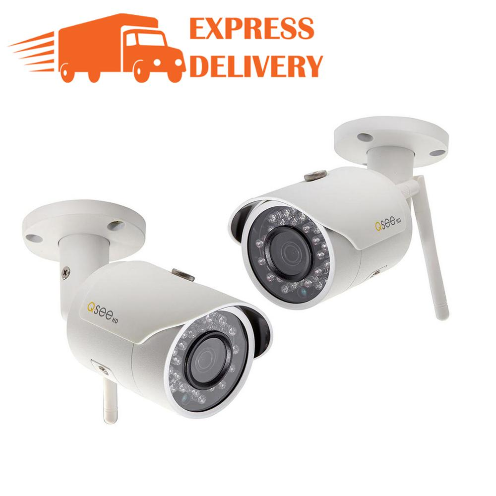 3MP Wi-Fi Indoor/Outdoor Bullet Security Surveillance Camera with 16GB SD Card