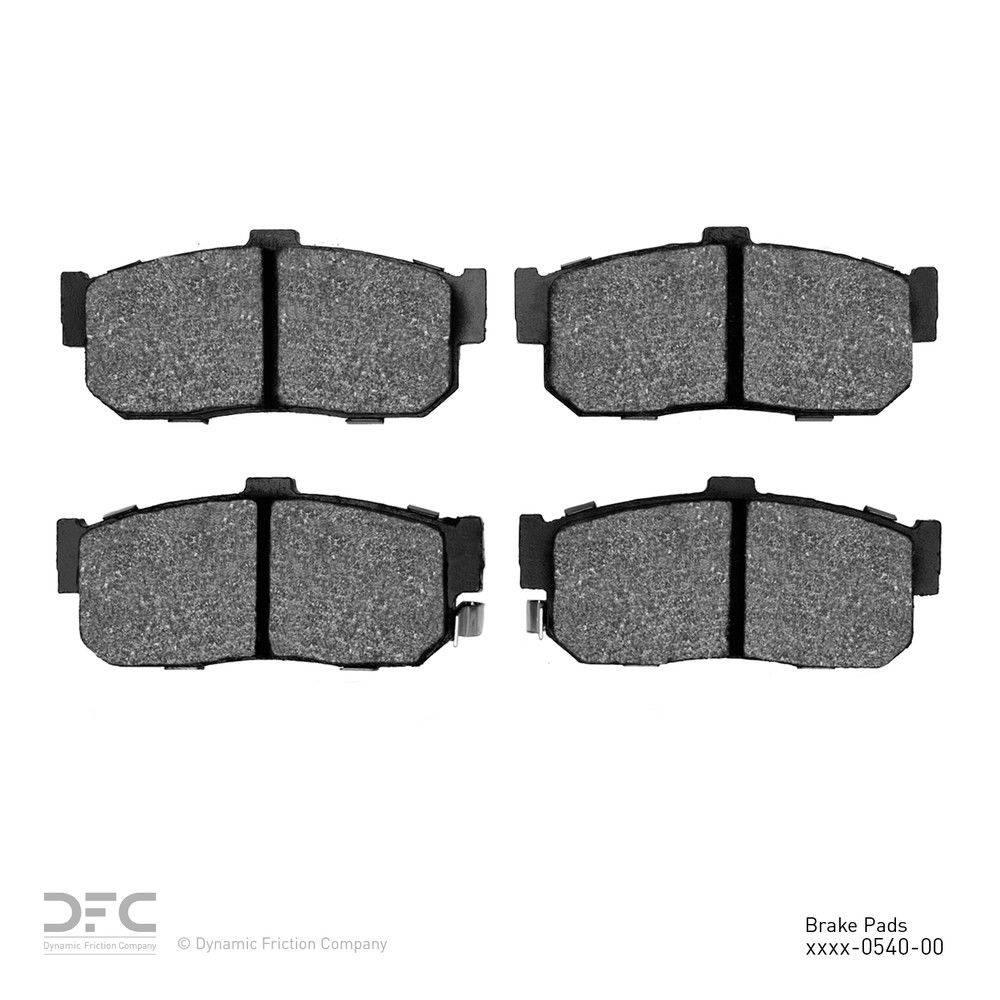 Dynamic Friction Company Dfc 5000 Advanced Brake Pads Ceramic 1551 0540 00 The Home Depot
