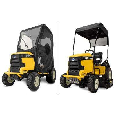 Sun Shade and Snow Cab Combo Kit for Cub Cadet XT1 and XT2 Lawn Mowers (2015 and After)