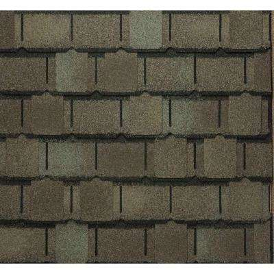 Camelot II Value Collection Weathered Timber Lifetime Architectural Shingles (25 sq. ft. per Bundle)
