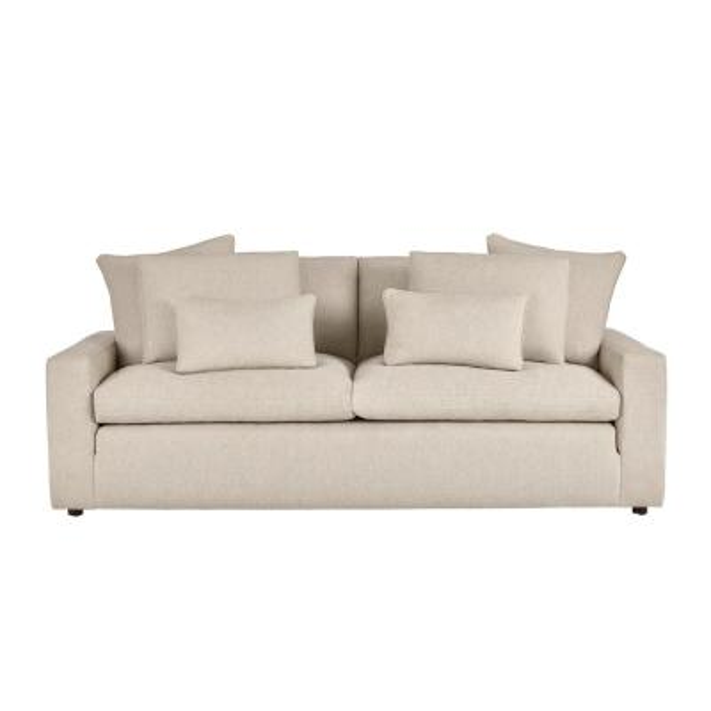 Daymont Acuff Khaki Straight Standard Sofa (91.5 in. W x 36 in. H)