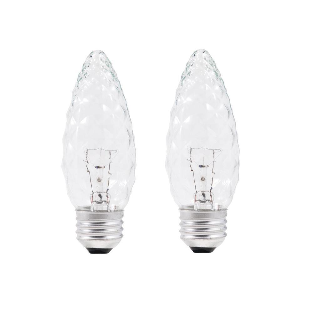 40-Watt B13 Incandescent Light Bulb (2-Pack)