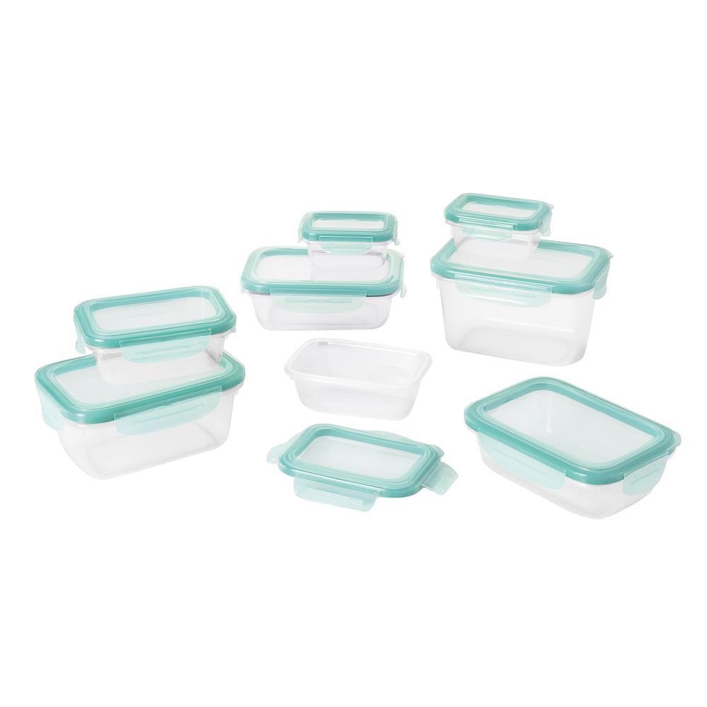Good Grips 16-Piece Smart Seal Plastic Container Set