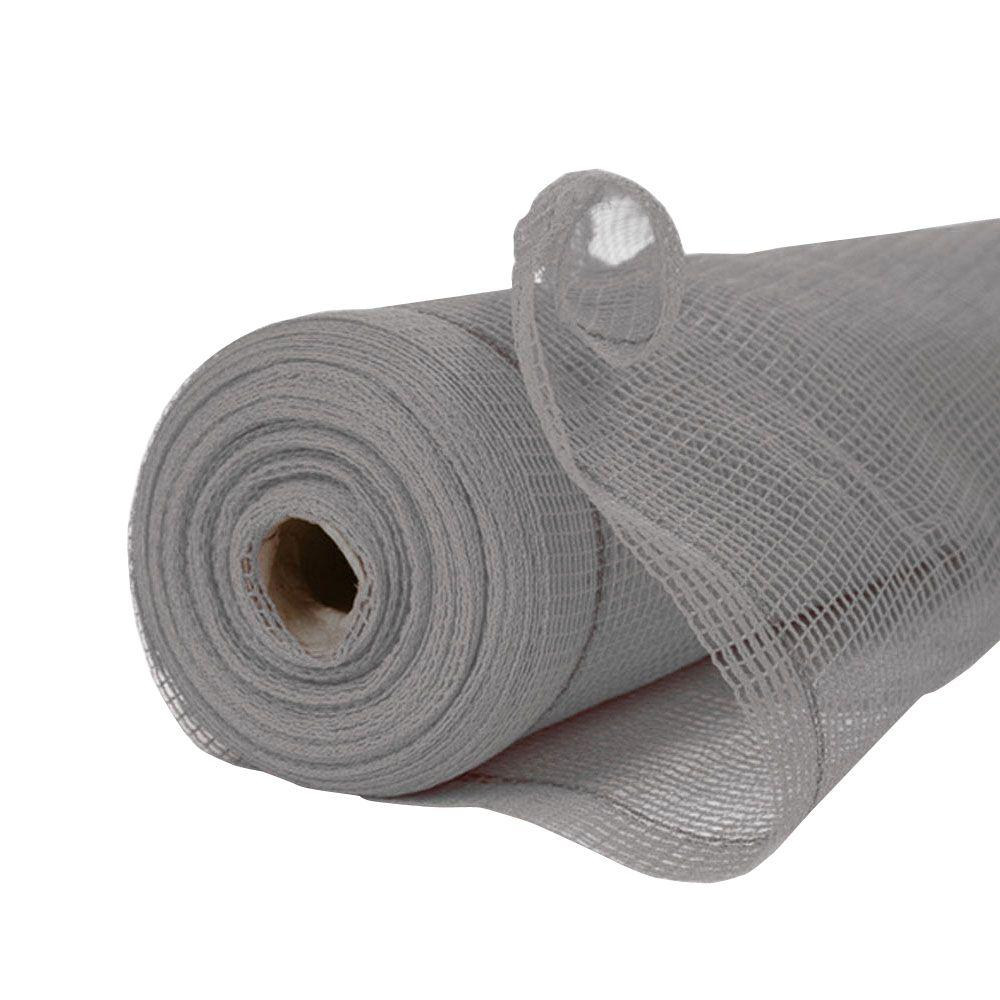 8.6 ft. x 150 ft. Fire Resistant Grey SafetyShield Safety Netting