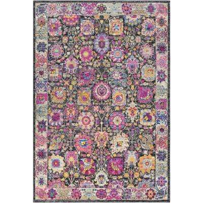 Merche Bright Pink 5 ft. x 7 ft. Area Rug