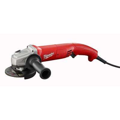 11 Amp 4.5 in. Small Angle Grinder with Lock-On Trigger Grip