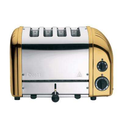 New Gen 4-slice Brass Toaster
