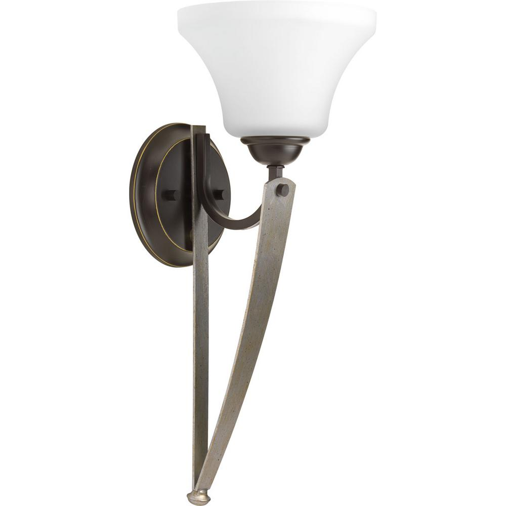 Noma Collection 1 Light Antique Bronze Wall Sconce