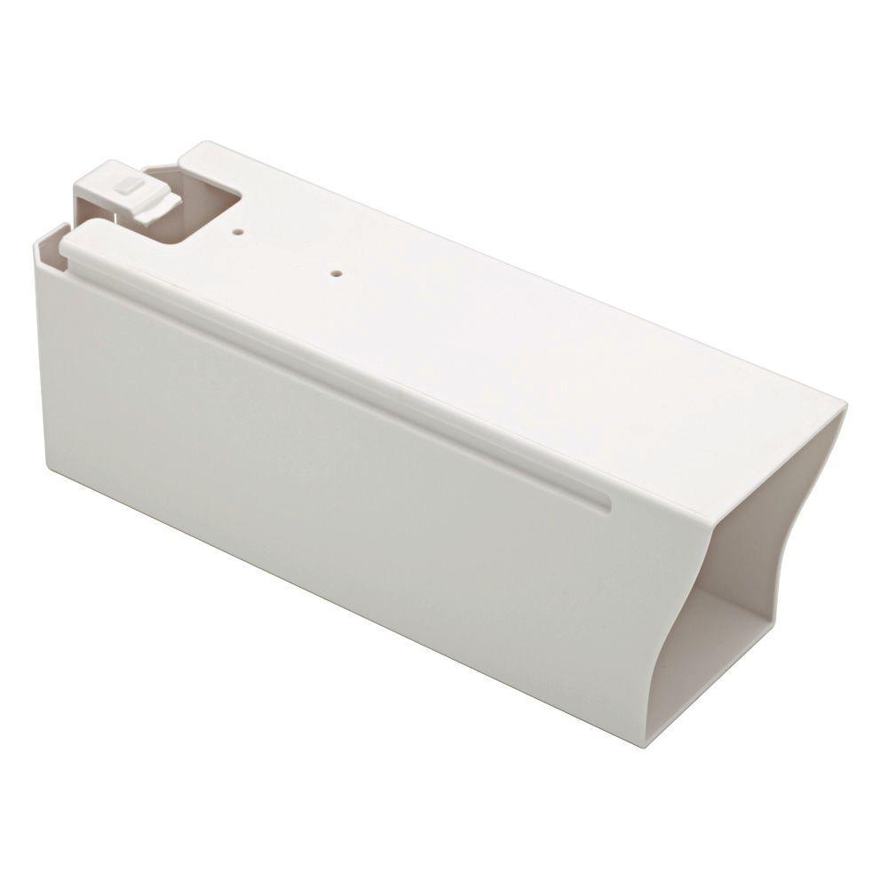 Vortex Mailbox Newspaper Holder in White