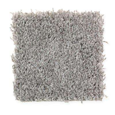 Carpet Sample - Top Gear II - Color Overcast Texture 8 in. x 8 in.
