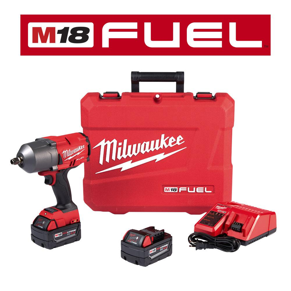 This Review Is From M18 Fuel 18 Volt Lithium Ion Brushless Cordless 1 2 In Impact Wrench W Friction Ring Kit With Two 5 0 Ah Batteries