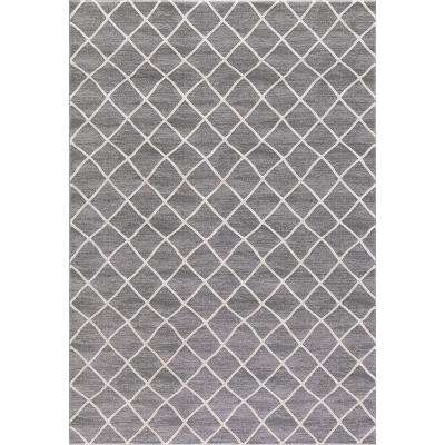 Bazaar Prestige Ivory-Gray 3 ft. 3 in. x 4 ft 7 in. Area Rug