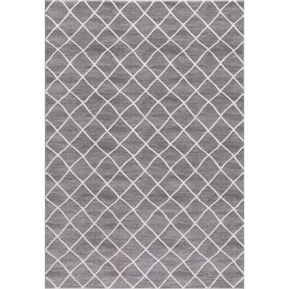 Prestige Ivory-Gray 5 ft. x 7 ft. Area Rug