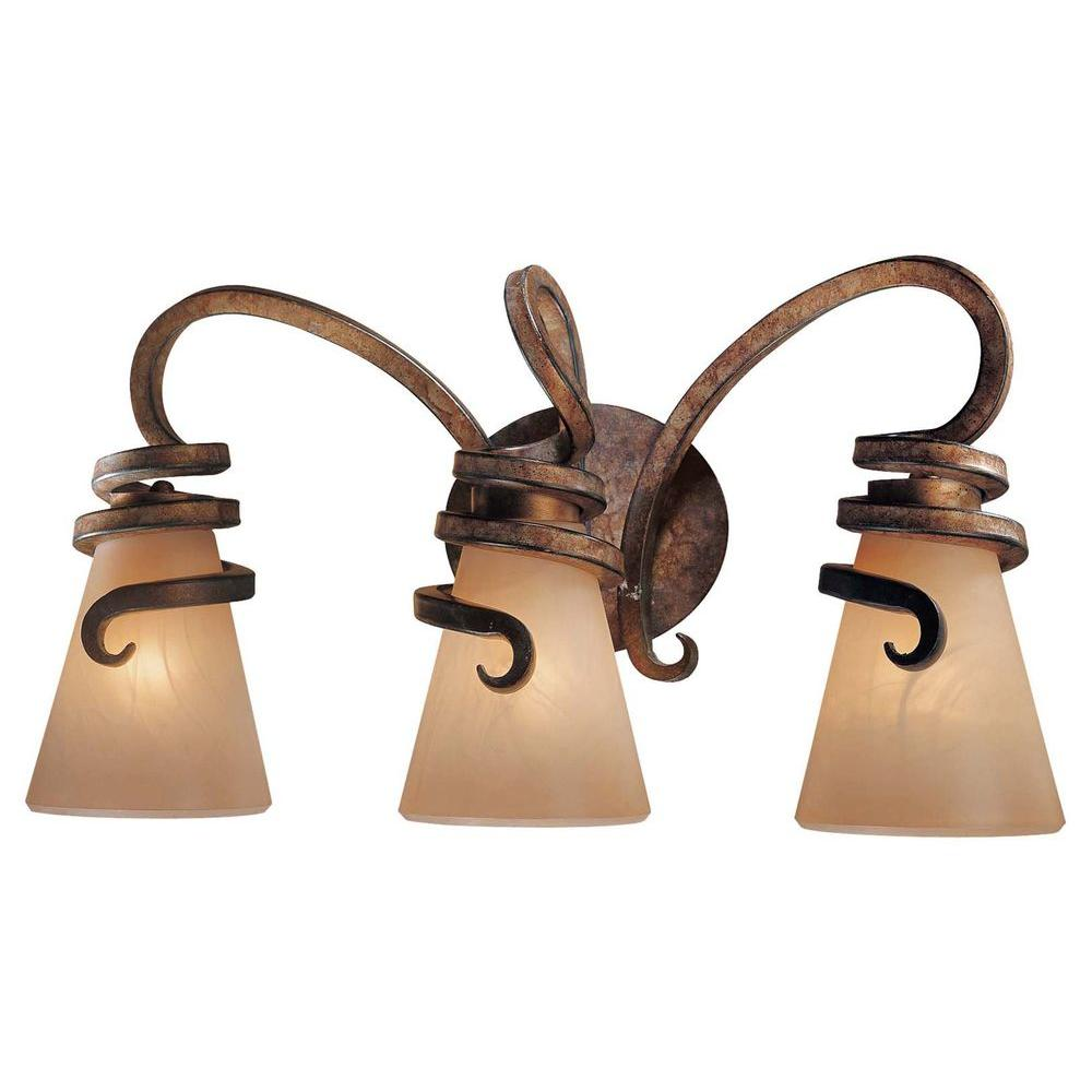 Minka Lavery Tofino Bath 3 Light Tofino Bronze Bath Light