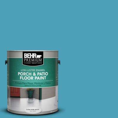 1 gal. #M480-5 Eskimo Low-Lustre Porch and Patio Floor Paint