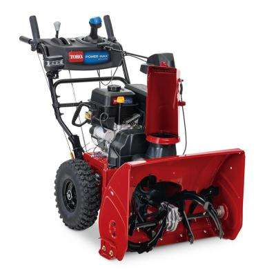 Power Max 826 OHAE 26 in. 252 cc Two-Stage Gas Snow Blower with Electric Start, Triggerless Steering and Hand Warmers