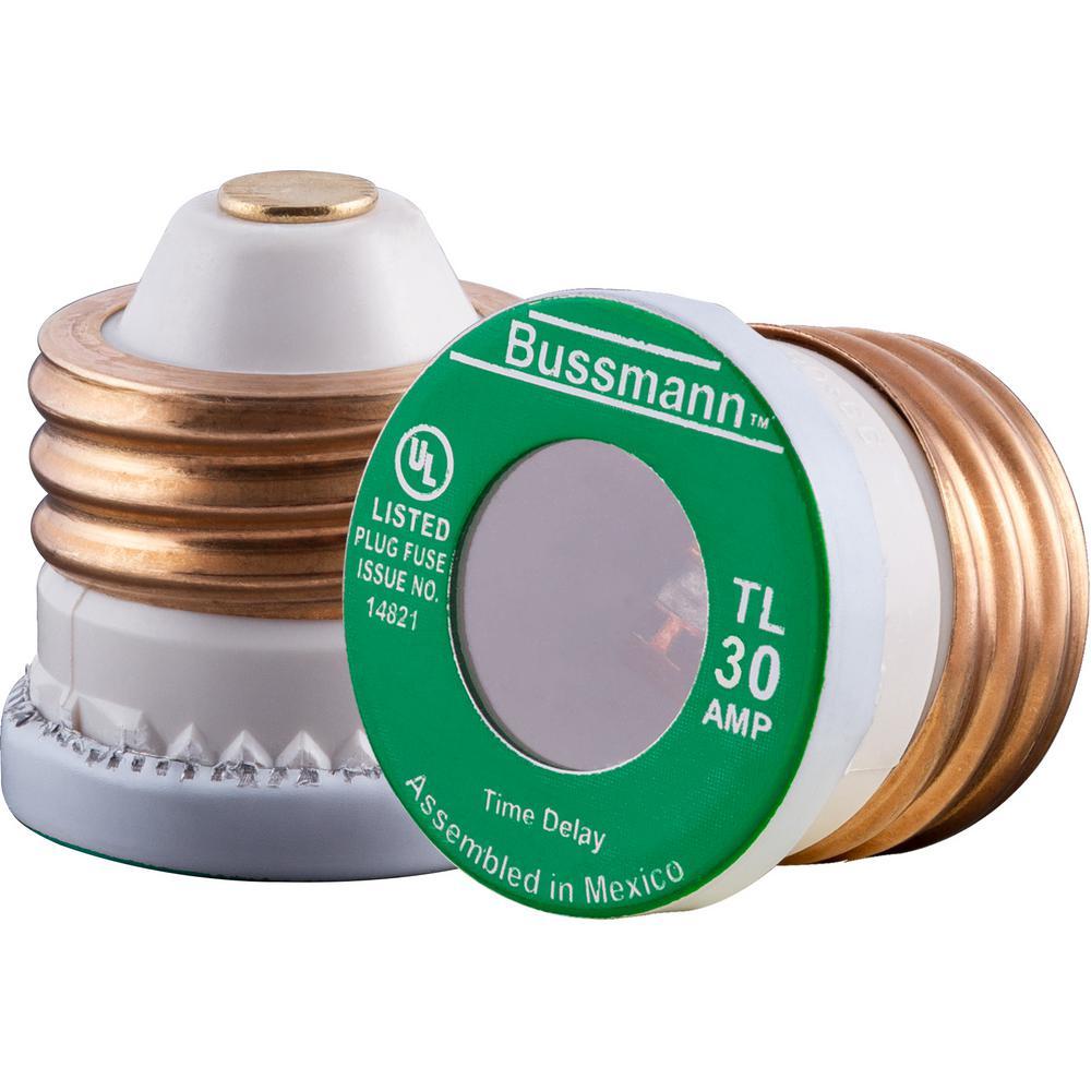 Bussmann Fuse F07A 32V 30A Glass Cartridge Fuse 30 Amps Box of 10