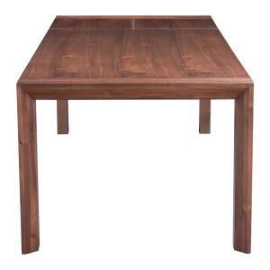 +4. ZUO Perth Chestnut Extendable Dining Table