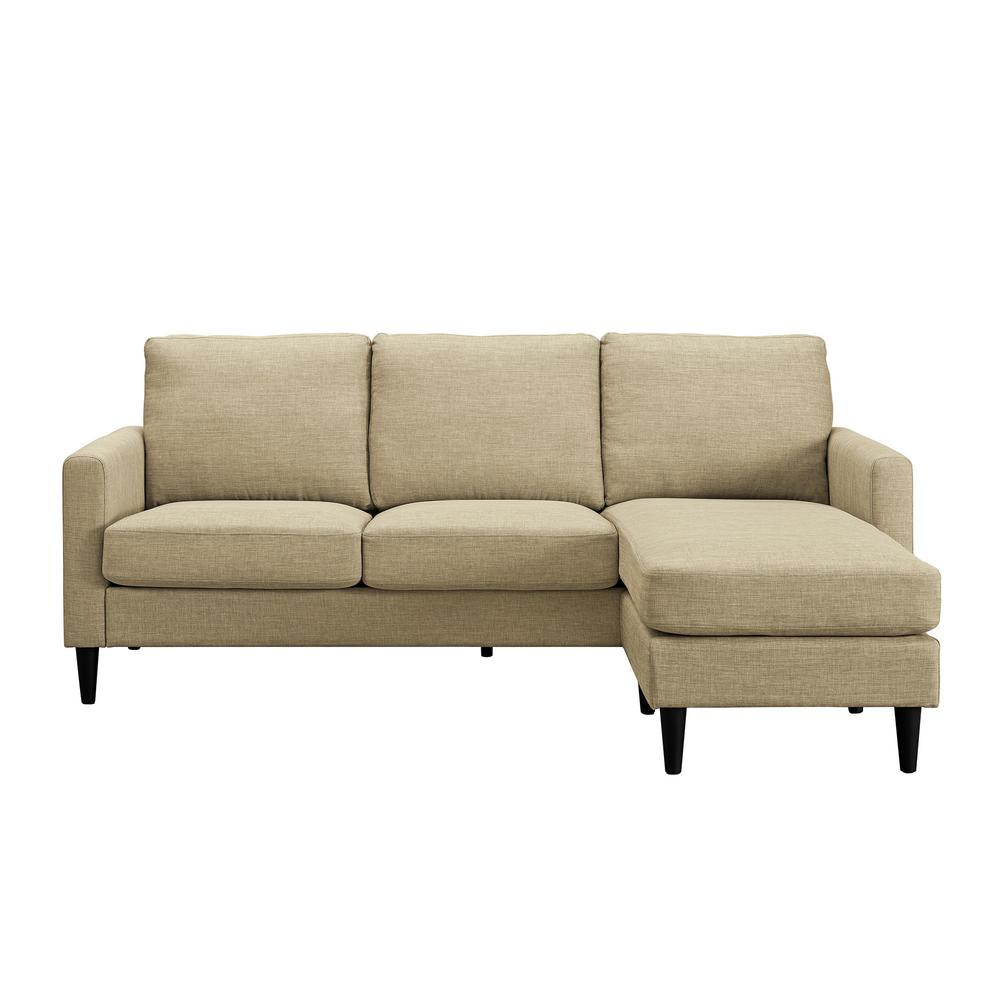 Jenny Beige Sectional Sofa