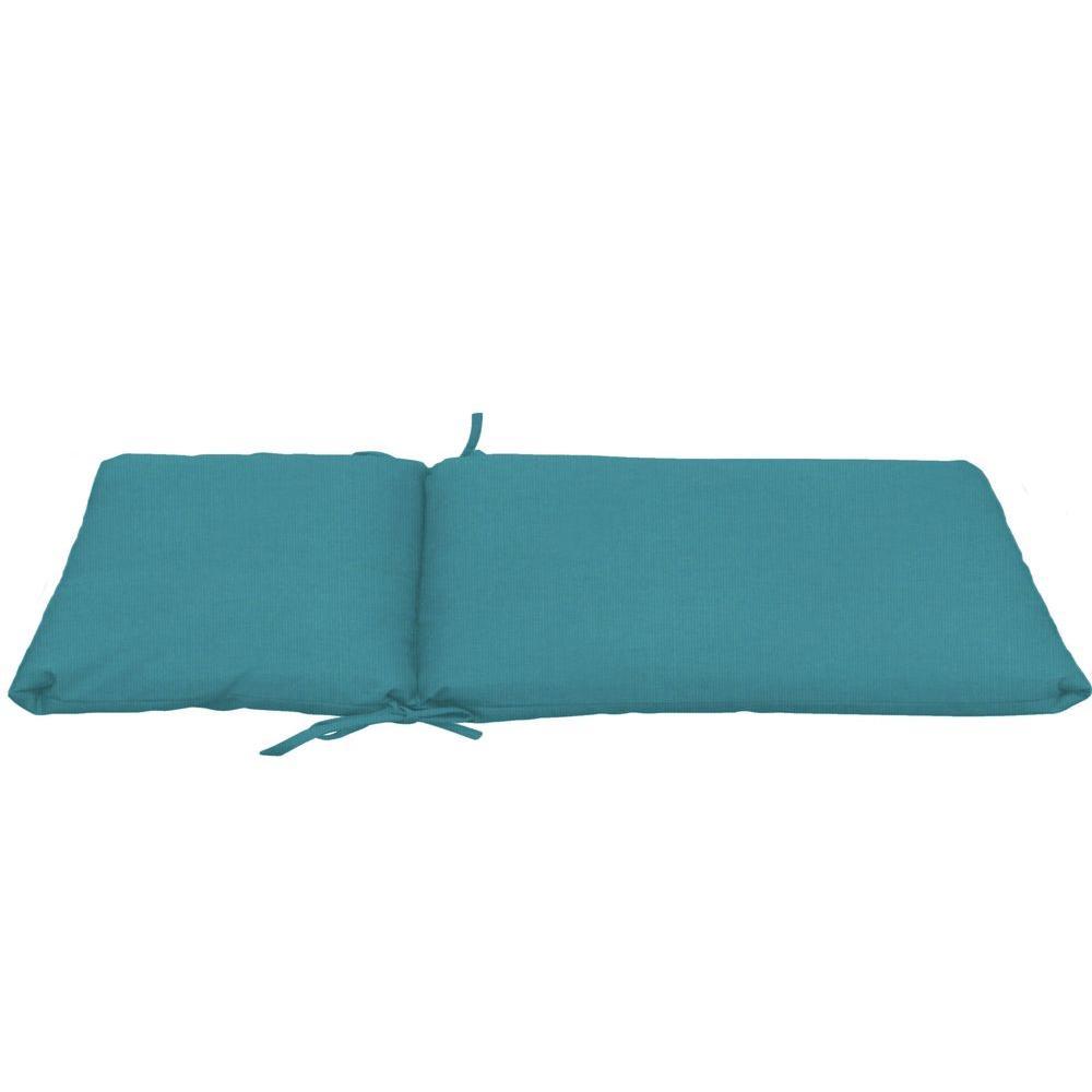 Paradise cushions sunbrella peacock longer length outdoor for Chaise cushions outdoor