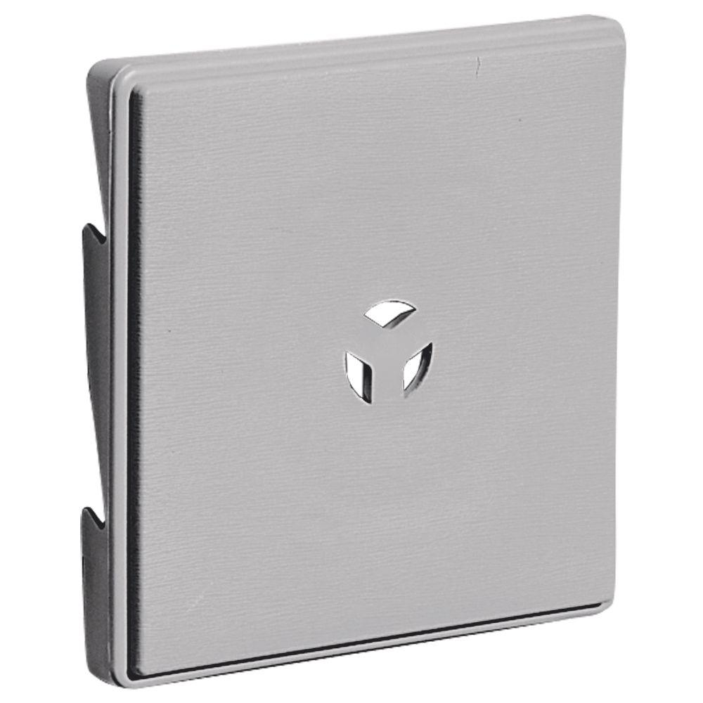 Builders Edge 3 in. Surface Block #016 Gray