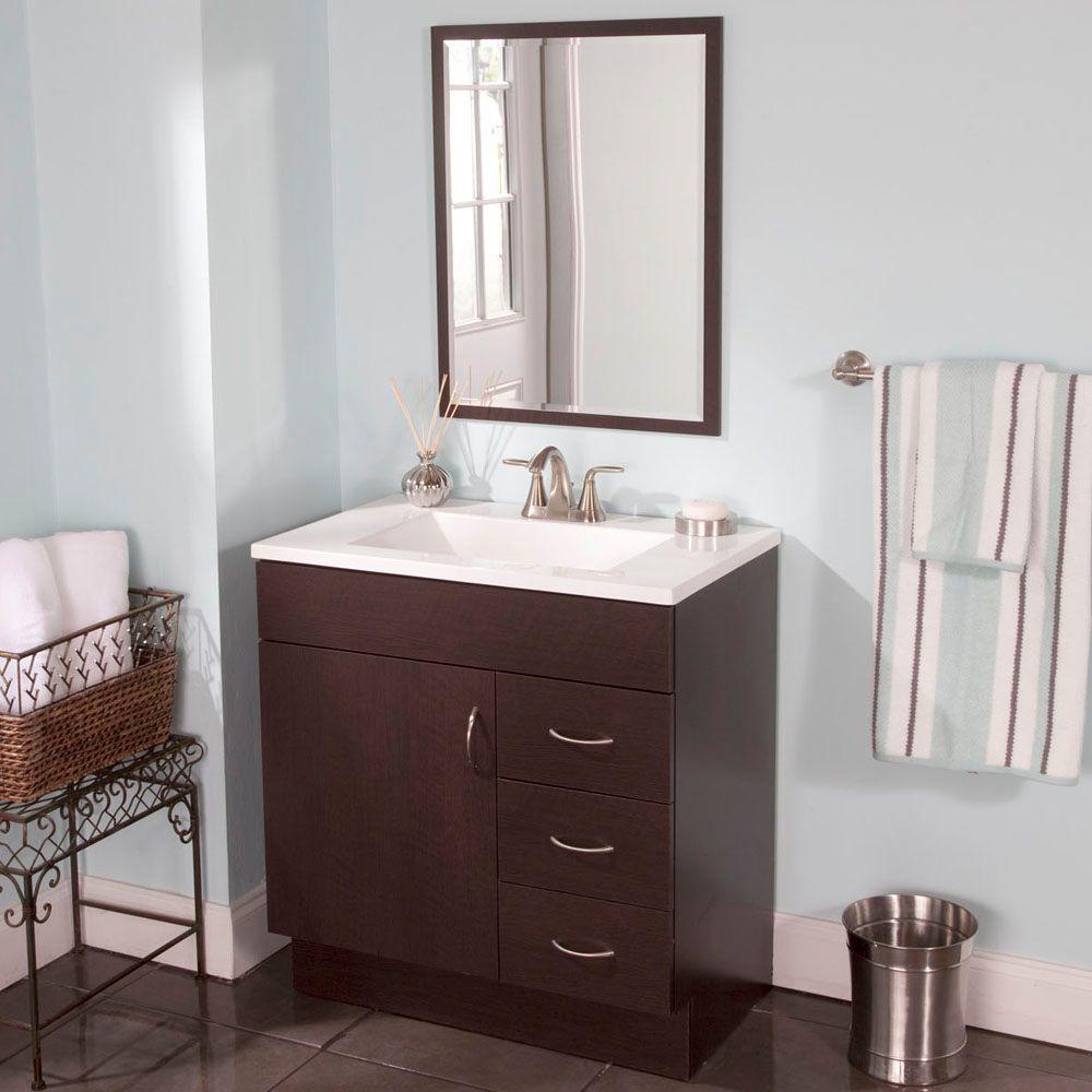 St. Paul Vanguard 31 in. W x 19 in. D Bathroom Vanity in ...