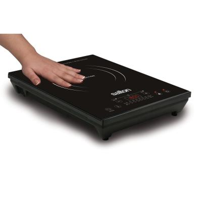 Single Burner 8 in. Black Electric Portable Induction Cooktop