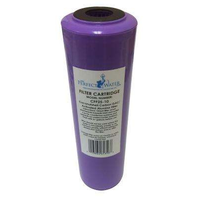 Home Master Jr. F2 Activated Alumina/GAC Fluoride Filter Replacement Water Filter