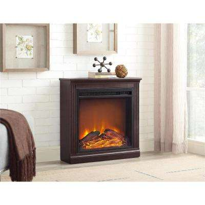 Bruxton Simple Fireplace in Cherry