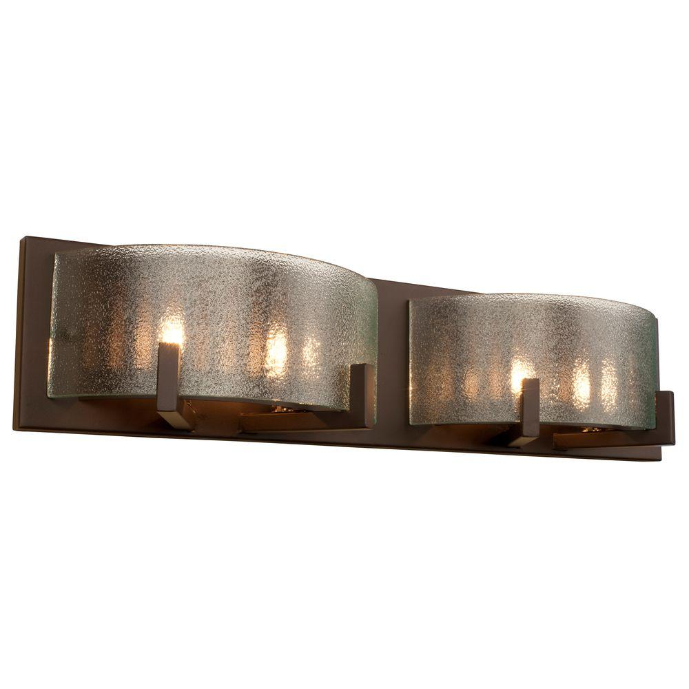 Varaluz Rogue Decor Firefly Light Bronze Bath Light The - Commercial bathroom light fixtures