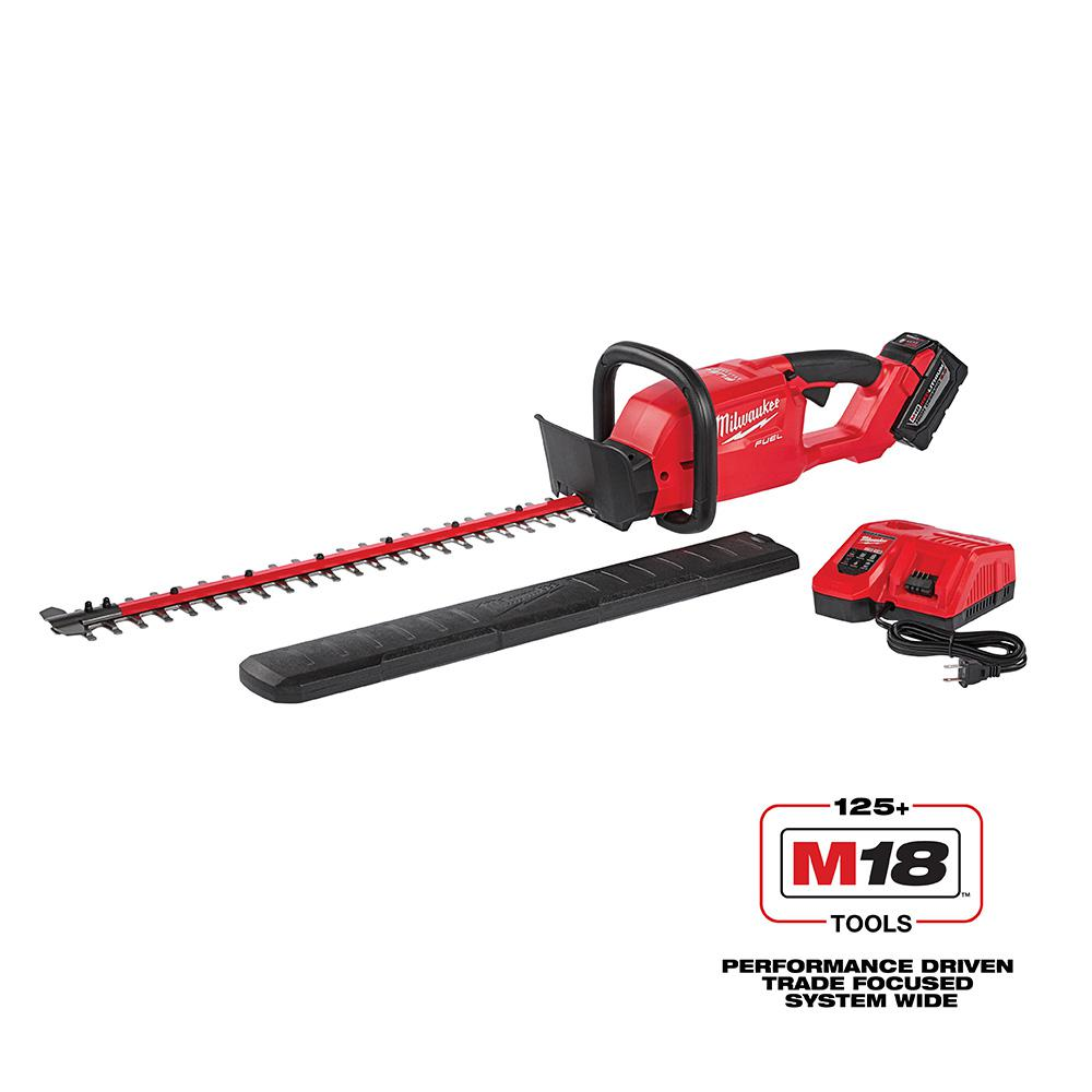 M18 FUEL 18-Volt Lithium-ion Brushless Cordless Hedge Trimmer Kit W/ 9.0Ah